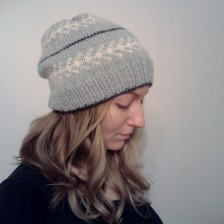 Svea Slouchy Knit Hat Pattern