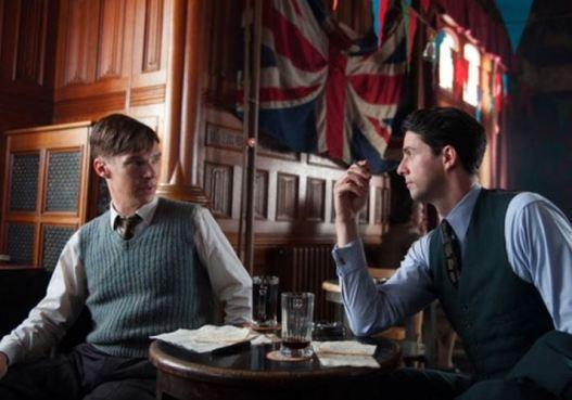 Benedict Cumberbatch and Matthew Goode