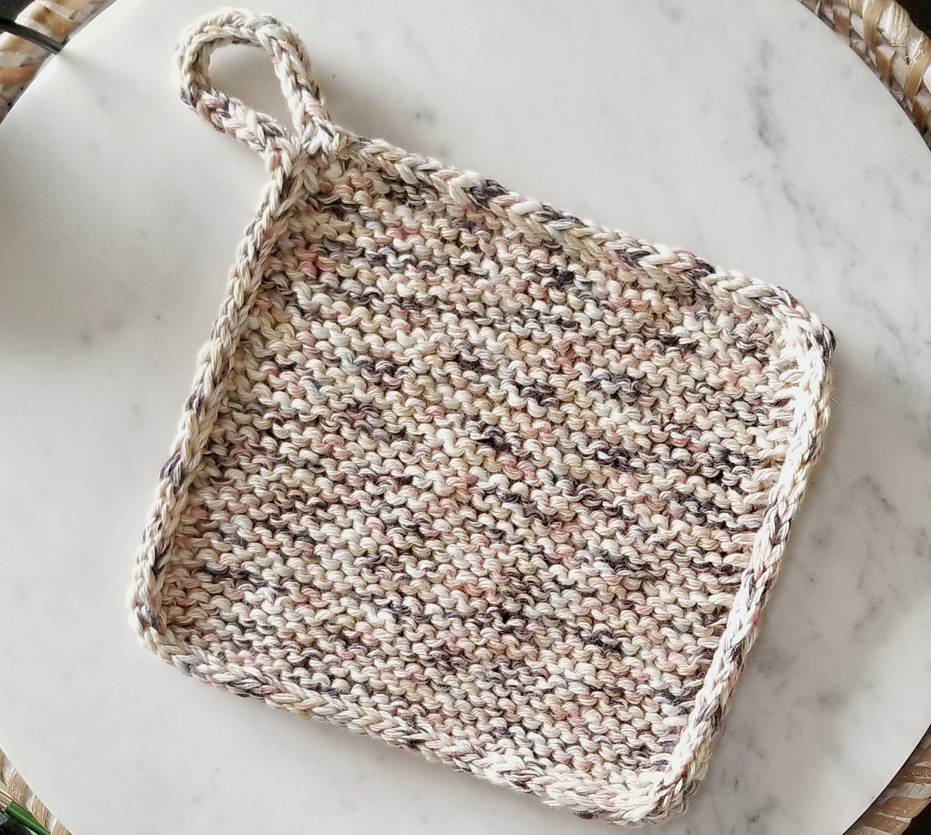 Free Knitting Pattern Afternoon Trivet
